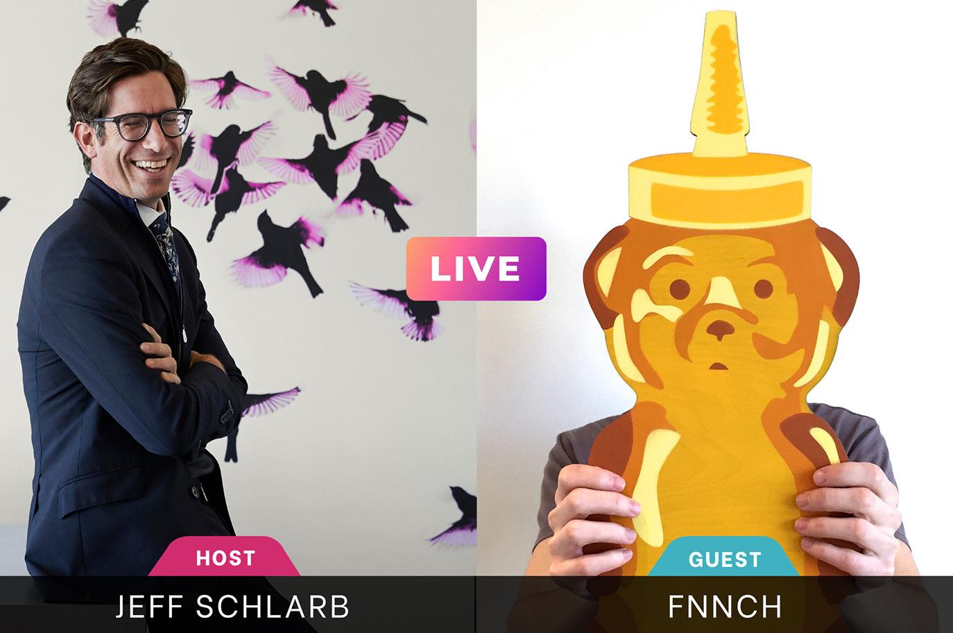 Instagram Live Jeff Schlarb FNNCH