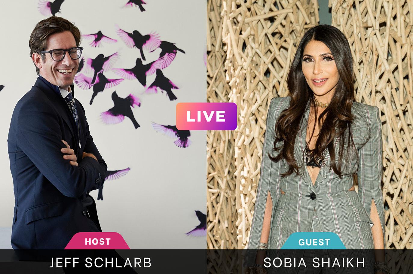 Instagram Live Jeff Schlarb Sobia Shaikh